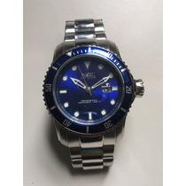 Relógio Invicta Lindo Fundo Azul Original