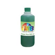 500ml Solução Limpeza Clean Cabeças Bulk Cartuchos Tinta