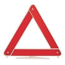 Triângulo De Segurança Carros Universal Sinalização - Branco