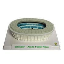 Miniatura Estádio Copa 2014 Arena Fonte Nova + Frete Grátis