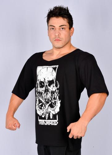 b52c432e93398 Camiseta Morcego Masculina Treino Academia. R  54.9