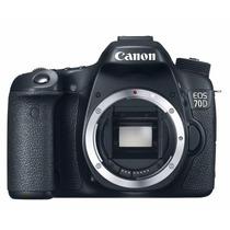 Camera Canon Eos 70d Corpo Nao Acompanha Lente Nova Na Caixa
