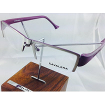Óculos De Grau Feminino Cavalera 21289 Original 2 Cores