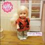 Roupinha Para Boneca Kelly ( Barbie ) Roupa * Mattel !