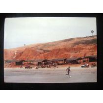 Cartão Postal Fortaleza - Ce Aracati Praia De Canoa Antigo