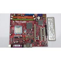 Placa Mãe Msi Ms-7267 / Ddr2 / 775/ Ver 4.5 / Pci-e + Brinde