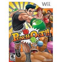 Puch Out Nintendo Wii - Raridade !!! Original E Lacrado !!!