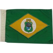 Bandeira Para Moto Bordada Dupla-face Ceara