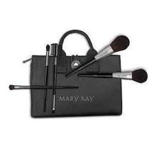 Pincéis Maquiagem Mary Kay E Estojo