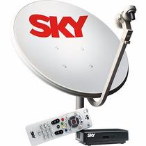 Parabólica Sky Livre Sky Pré-pago Flex Sd
