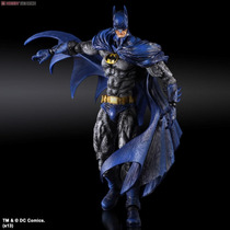 Batman Arkham City - Play Arts - Batman 1970 Batsuit Skin