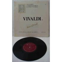 Grandes Compositores Da Música Univers Ed Abril Lp Vivaldi