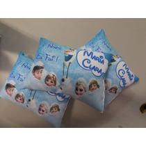 Almofada Personalizada Aniversário Frozen Ou Outros Temas