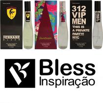 10 Perfumes 55ml C/ Anvisa E Nota Fiscal/
