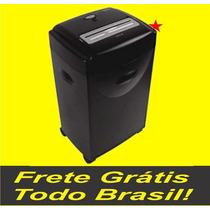 Fragmentadora Triturador De Papel A4 15fls Cd Cartão - 110v