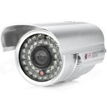 Câmera Infra Cmos 1/4 - 20 Mts 36 Leds Infra Ntsc Sem Base
