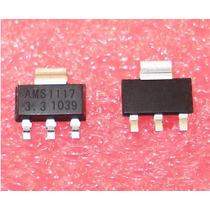5 Peças Regulador Smd Ams1117 Sa1117 Lm1117 1117 3,3v