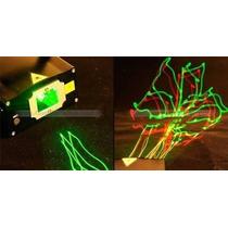 Mini Projetor Laser Holográfico Com Raios Para Dj Festa