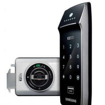 Fechadura Digital Samsung Shs-2320 Painel Touch Screen Ezon