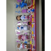 Kit Com 05 Bonecos Da Doutora Disney Com Acessorios