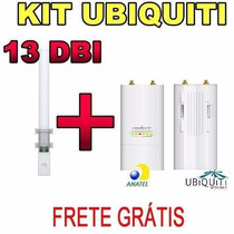 Kit Ubiquiti Antena Amo-5g13 Omni 13dbi + Rocket M5 Mimo