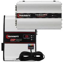 Modulo Taramps Dsp1600 1600w Rms + Ts800 Digital 4 Canais