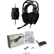 Kit Headset Razer Tiamat 7.1 + Placa Asus Xonar Dsx 7.1 Pcie