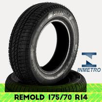 Pneu Remold Firstline 175/70 R14 Com Certificado Inmetro