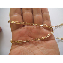 Corrente Ouro Cartier 18k 0750 65cm 28 Gramas