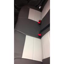 Capas D Couro Ecologico Para Novo Peugeot 208 Grafite E Cin