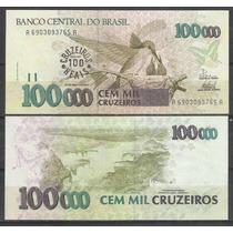C235 - Brasil 100 Cruzeiros Reais / 100000 Cruzeiros 1993 Fe