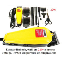 Maquina De Cortar Cabelo, Barba... Wahl Profissional 220v