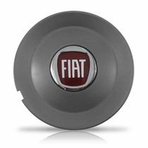 Calota Centro De Roda Esportiva Fiat Bravo Grafite