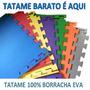Tatame Barato É Aqui Eva 100x100x15mm Terra Fitness