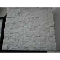 Mosaico Marmore Branco 3x3cm