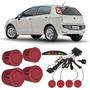 Sensor De Estacionamento Fiat Punto Vermelho Alpine