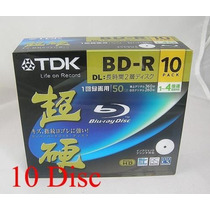 10 +1 Bluray Tdk 50 Gb Blu-ray Dl