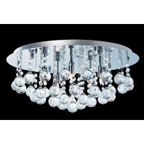 Lustre De Cristal K9 Para Sala Ou Quarto (50cm)