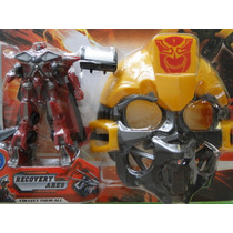 Mascara & Veiculo Transformers Recovery Ares