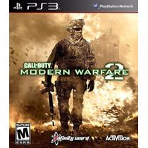 Jogo Call Of Duty Mw2 Para Ps3 /semi Novo/ Barato!!!!