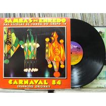 Sambas Enrêdo Escolas Samba Carnaval 1983 Grupo 1b Lp Encart