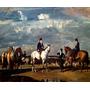 Cavalos Cavalgada Passeio Campo Pintor Munnings Tela Repro