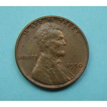 10 Usa One Cent 1952 Sem Letra, Lincoln 19mm, Bronze Oferta