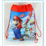 Mochila Sacola New Super Mario Bros Pronta Entrega