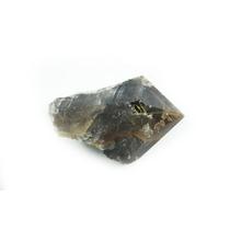 Cristal Fumê Com Rutilo Dourado Em Bruto-pb40