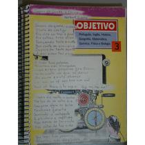 Livro Objetivo 3 - Português, Inglês, História, Geografia...
