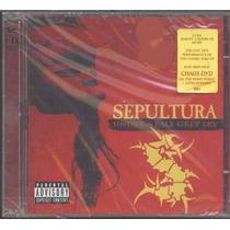Sepultura-under A Pale Grey Sky-2 Cds Raro Novo Lacrado Veja