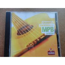 Cd Grandes Sucessos Da Mpb Acústico Original