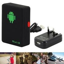 Mini A8 Rastreador Gps Localizador Veicular/pessoal