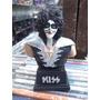 Kiss Peter Criss Lindo Boneco Busto Artesanal
